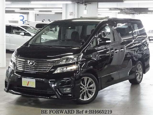 Used 2011 TOYOTA VELLFIRE BH665219 for Sale