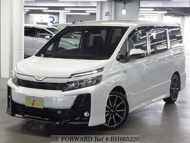 Used 2018 TOYOTA VOXY BH665220 for Sale