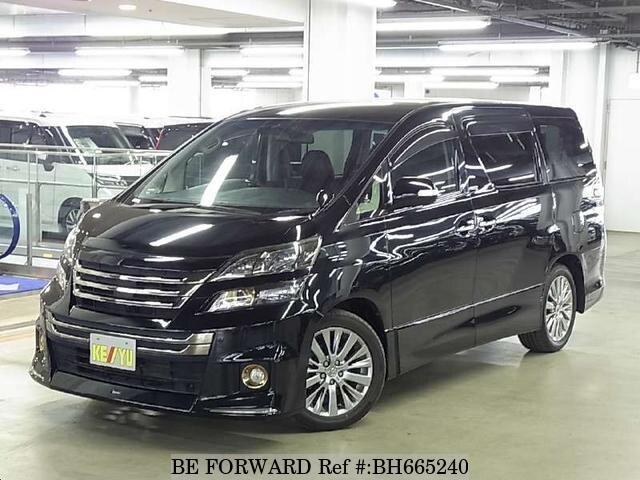 Used 2013 TOYOTA VELLFIRE BH665240 for Sale
