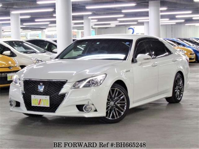 Used 2013 TOYOTA CROWN HYBRID BH665248 for Sale