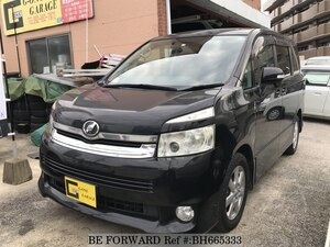 Used 2007 TOYOTA VOXY BH665333 for Sale