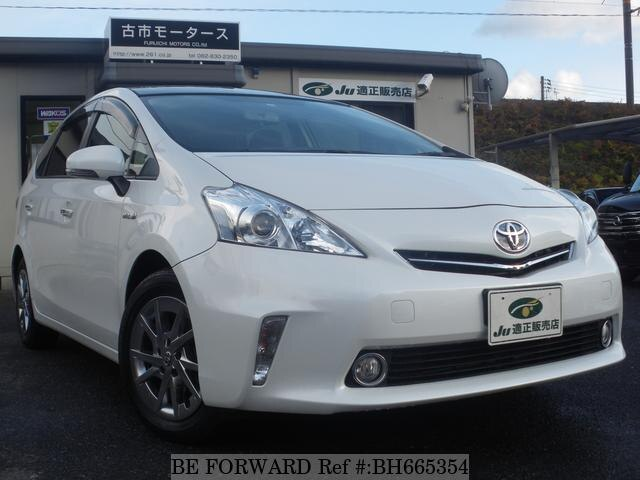 Used 2013 TOYOTA PRIUS ALPHA BH665354 for Sale
