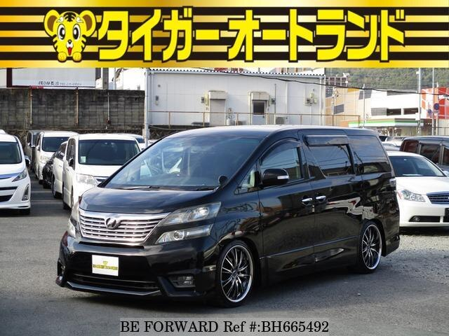 Used 2009 TOYOTA VELLFIRE BH665492 for Sale