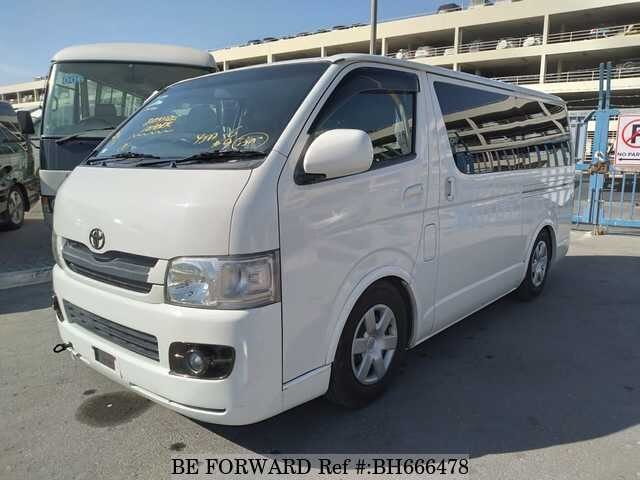 Used 2006 TOYOTA HIACE VAN BH666478 for Sale