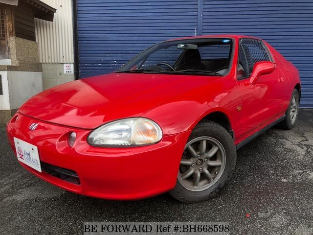 Used 1992 HONDA CR-X DELSOL BH668598 for Sale
