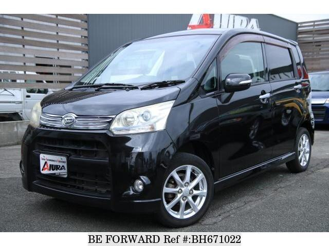 Used 2011 DAIHATSU MOVE BH671022 for Sale