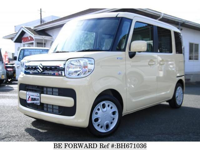 Used 2020 SUZUKI SPACIA BH671036 for Sale