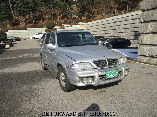 Used 2005 SSANGYONG MUSSO BH671611 for Sale