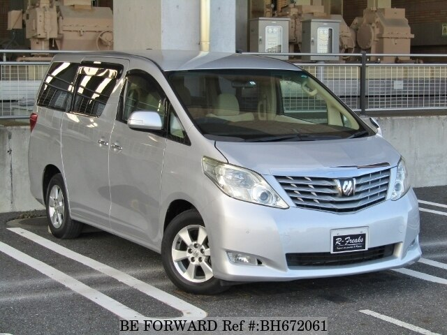Used 2009 TOYOTA ALPHARD BH672061 for Sale