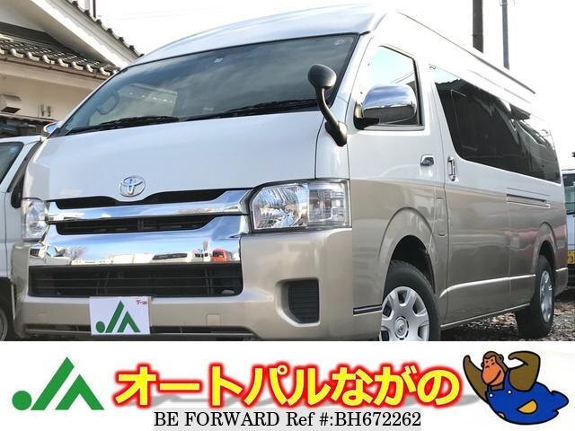 Used 2017 TOYOTA HIACE WAGON BH672262 for Sale