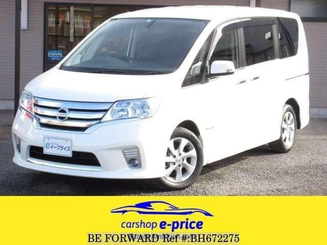 Used 2012 NISSAN SERENA BH672275 for Sale
