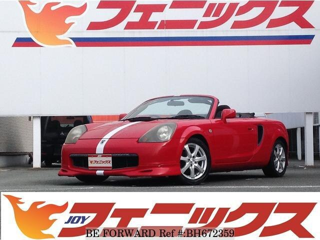 Used 2000 TOYOTA MR-S BH672359 for Sale