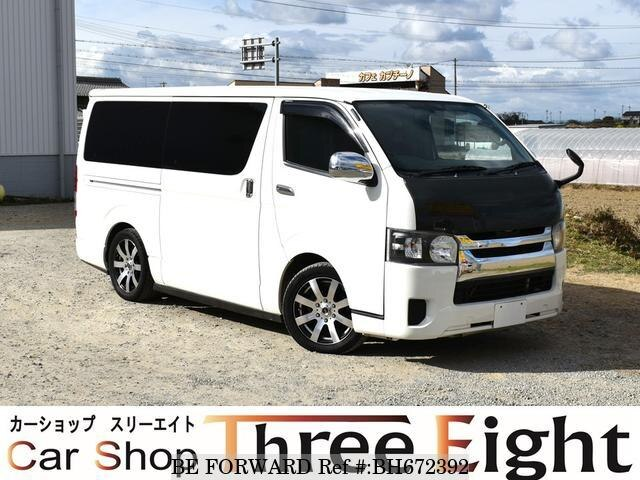 Used 2010 TOYOTA HIACE VAN BH672392 for Sale