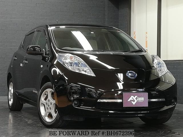 Used 2012 NISSAN LEAF BH672396 for Sale