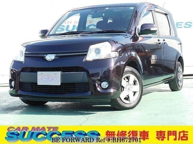 Used 2011 TOYOTA SIENTA BH672701 for Sale