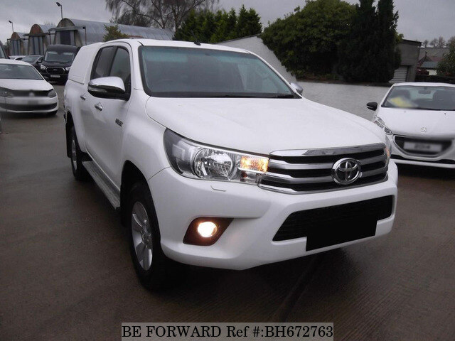 Used 2017 TOYOTA HILUX BH672763 for Sale