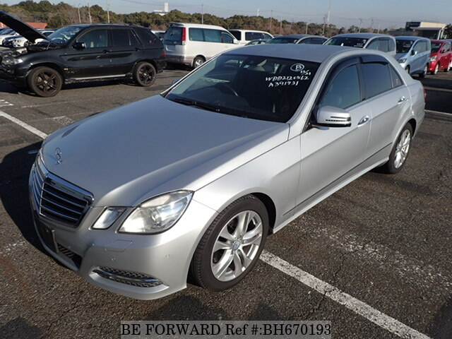 Used 2011 MERCEDES-BENZ E-CLASS BH670193 for Sale