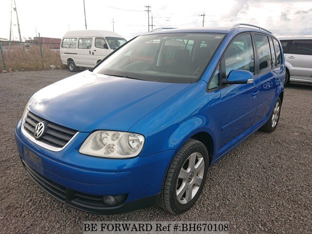 Used 2004 VOLKSWAGEN GOLF TOURAN BH670108 for Sale