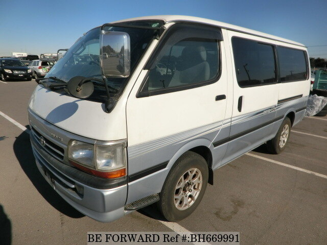 Used 2004 TOYOTA HIACE VAN BH669991 for Sale