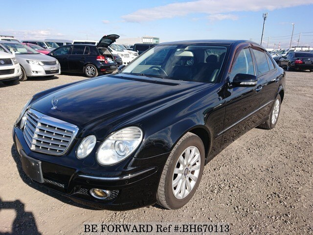 Used 2007 MERCEDES-BENZ E-CLASS BH670113 for Sale