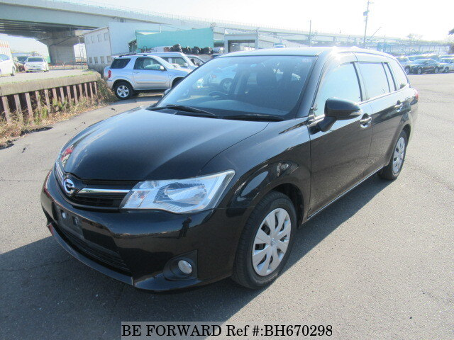 Used 2012 TOYOTA COROLLA FIELDER BH670298 for Sale