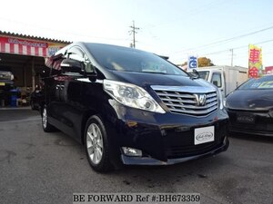 Used 2009 TOYOTA ALPHARD BH673359 for Sale