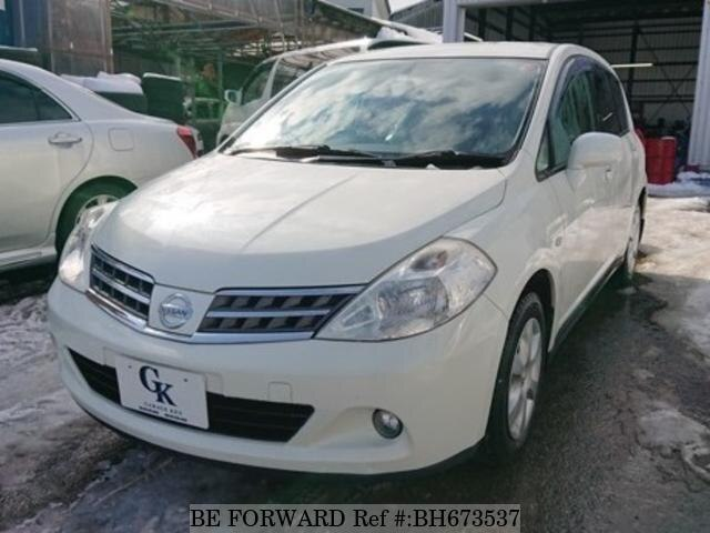 Used 2010 NISSAN TIIDA BH673537 for Sale