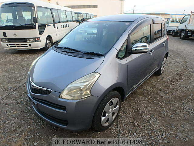 Used 2005 TOYOTA RACTIS BH671498 for Sale