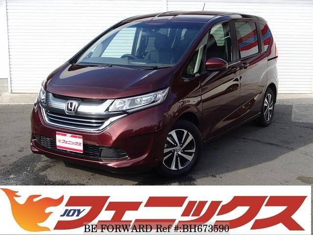 Used 2017 HONDA FREED HYBRID BH673590 for Sale