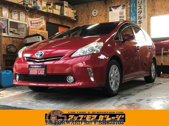 Used 2012 TOYOTA PRIUS ALPHA BH673703 for Sale