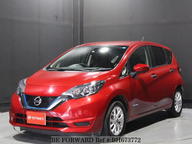 Used 2019 NISSAN NOTE BH673772 for Sale