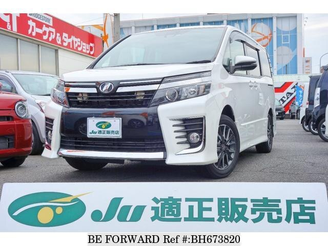 Used 2016 TOYOTA VOXY BH673820 for Sale