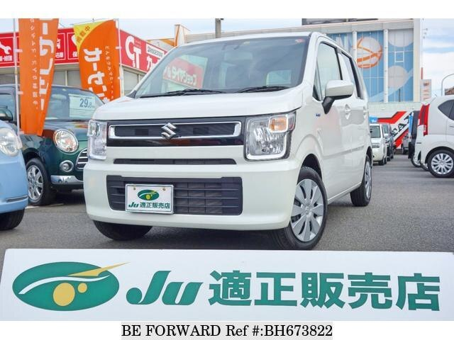 Used 2019 SUZUKI WAGON R BH673822 for Sale