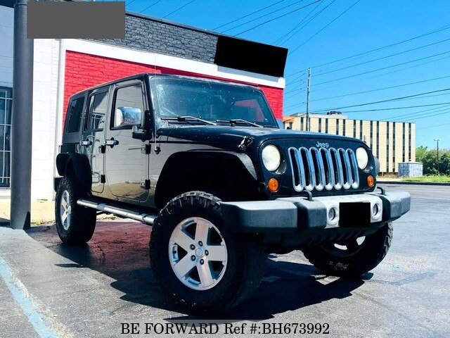 Used 2009 JEEP WRANGLER BH673992 for Sale