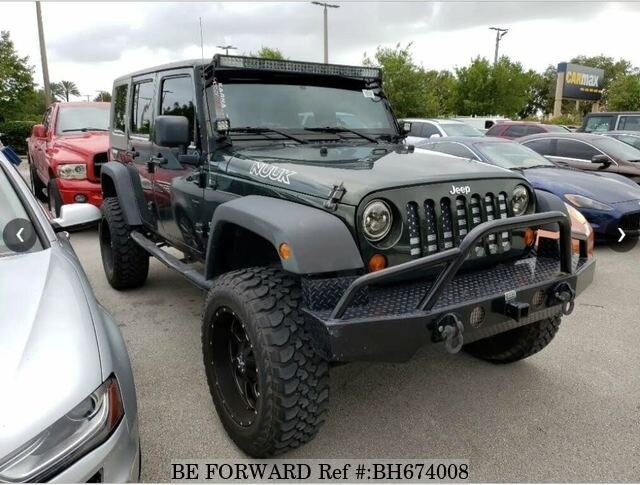 Used 2010 JEEP WRANGLER BH674008 for Sale