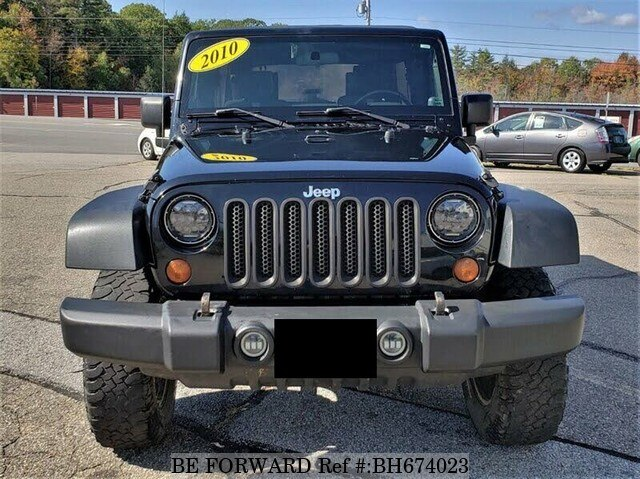 Used 2010 JEEP WRANGLER BH674023 for Sale
