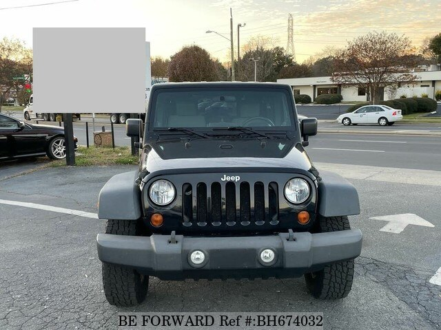 Used 2010 JEEP WRANGLER BH674032 for Sale