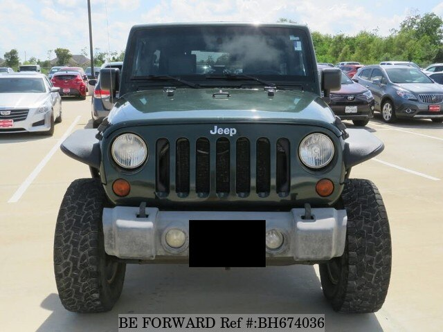 Used 2010 JEEP WRANGLER BH674036 for Sale