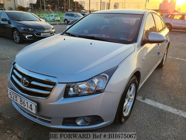 Used 2009 DAEWOO (CHEVROLET) LACETTI (CRUZE) BH675067 for Sale