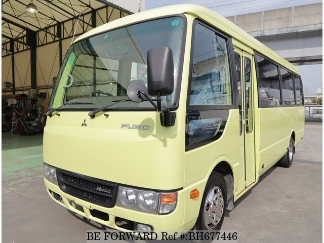 Used 2014 MITSUBISHI FUSO ROSA BUS BH677446 for Sale