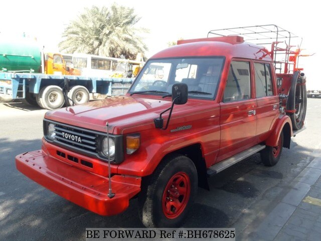 Used 1992 TOYOTA LAND CRUISER BH678625 for Sale