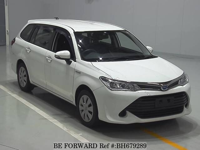 Used 2015 TOYOTA COROLLA FIELDER BH679289 for Sale