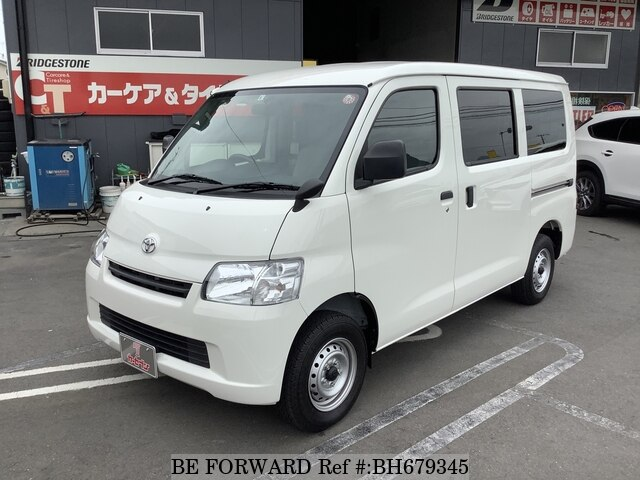 Used 2020 TOYOTA TOWNACE VAN BH679345 for Sale