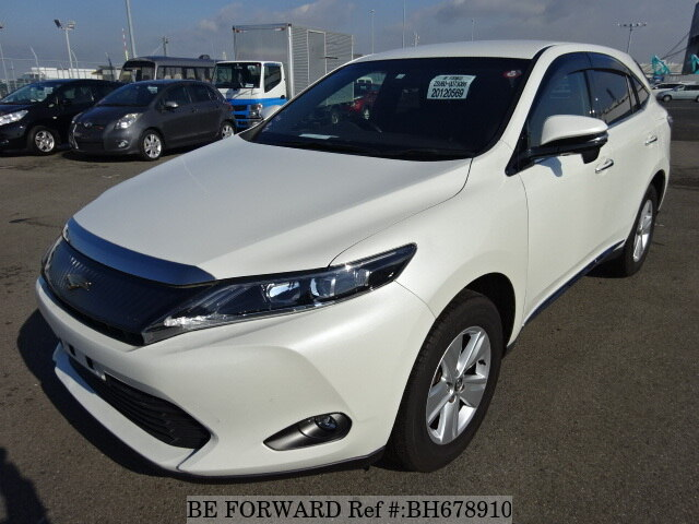 Used 2015 TOYOTA HARRIER BH678910 for Sale