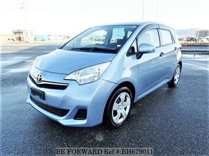 Used 2012 TOYOTA RACTIS BH679011 for Sale