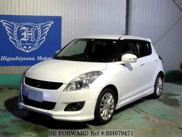 Used 2012 SUZUKI SWIFT BH679471 for Sale