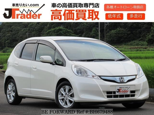Used 2011 HONDA FIT HYBRID BH679488 for Sale