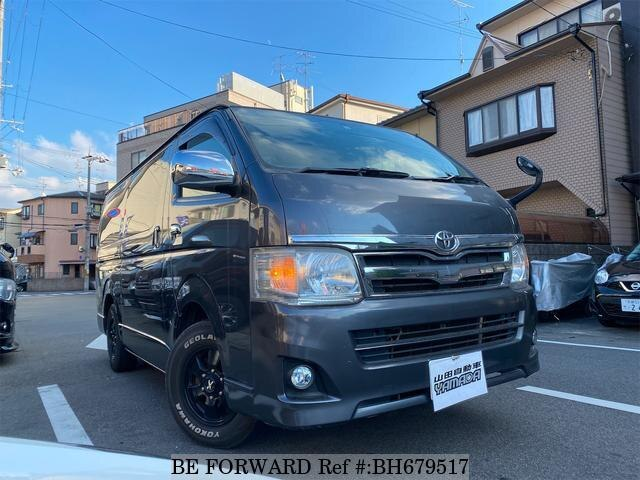 Used 2012 TOYOTA HIACE VAN BH679517 for Sale