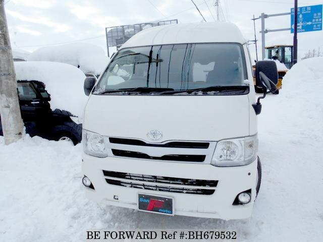 Used 2013 TOYOTA HIACE VAN BH679532 for Sale