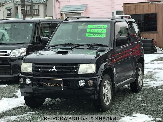 Used 2006 MITSUBISHI PAJERO MINI BH679540 for Sale